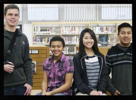 pictured: Jacob Foss, Sierra Smith, Melinda Xiong, Rafael Garcia